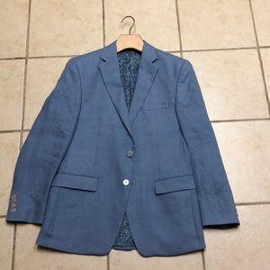 Lauren Ralph Lauren light blue linen sport coat.